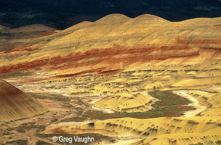 Painted Hills at John Day Fossil Beds National Monument