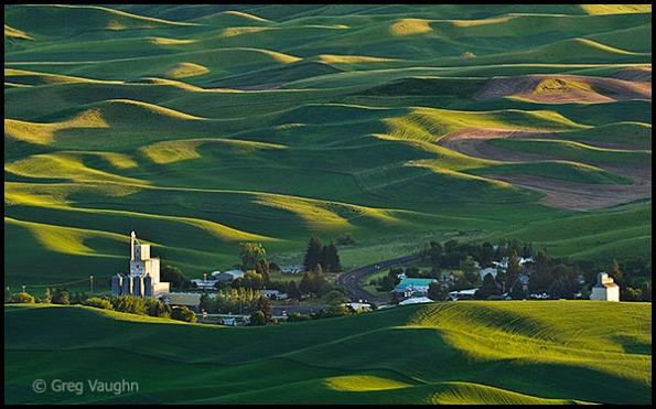 Palouse, Washington wheat country