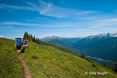 Backpacking the High Divide Trail in Olympic National Park