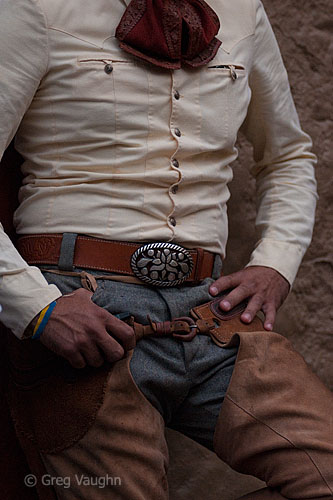 A charro or cowboy in Guadalajara, Mexico.