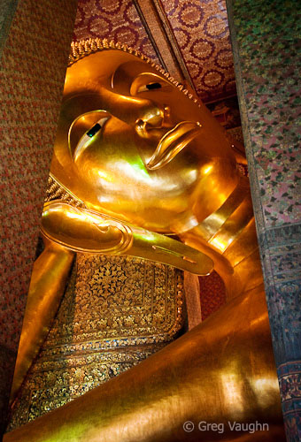 Buddha at Wat Pho temple, Bangkok