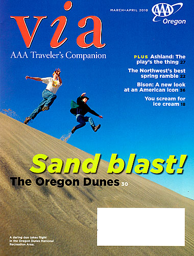 VIA Magazine cover